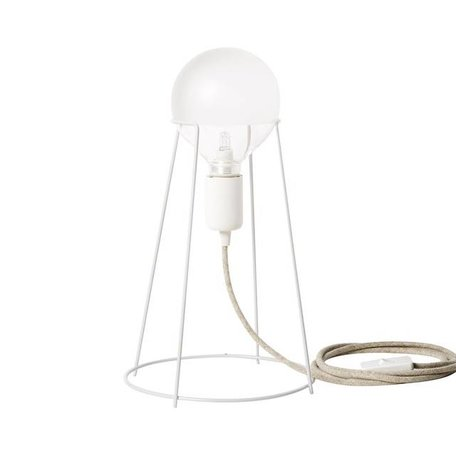 Table lamp Agraffe white