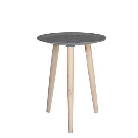 Side table Bella - Concrete look - 38 cm