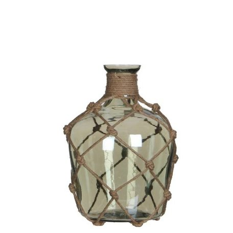 Olie fles Yula groen - 20 cm
