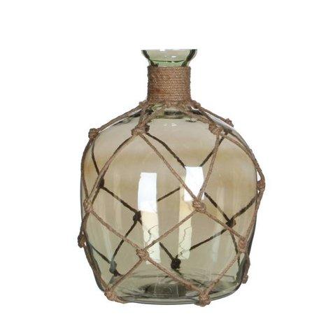 Oil bottle Yula green - 25 cm
