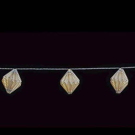Light cord black paper diamond lights