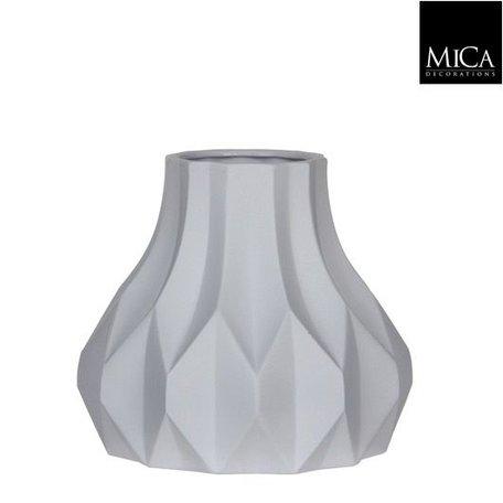 Vase Fena matt white