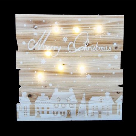 Wall frame Merry Christmas - Lights