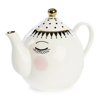 Teapot with eyes and dots TP027