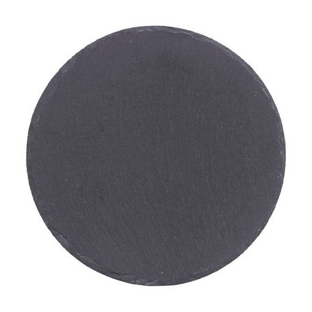 Round slate serving plate  20 cm