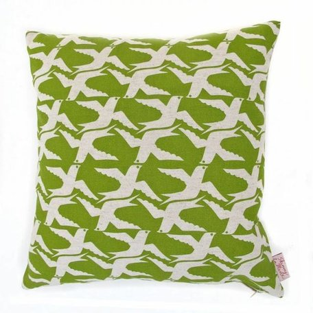Cushion cover cloudbirds - apple
