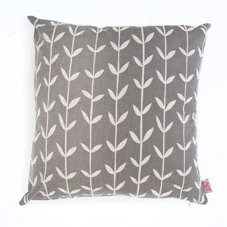 Cushion cover Solid Orla - grey
