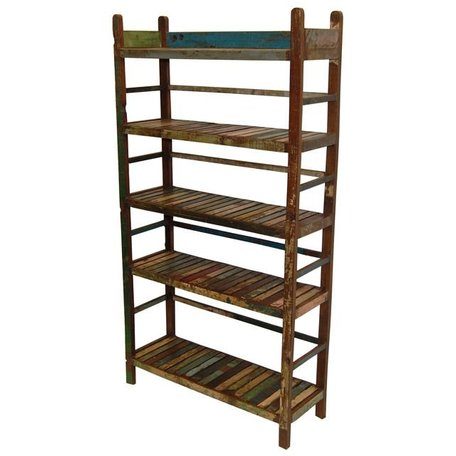 Kast recycled hout