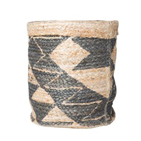 Coahuilla mand zwart / naturel