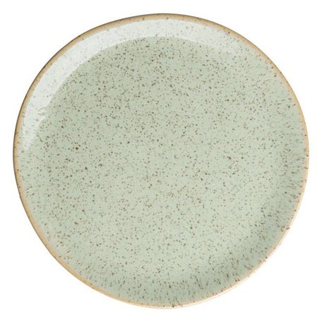 Ceramic plate light green 14 cm
