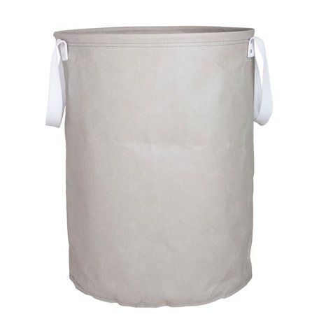 Paper laundry bag grey