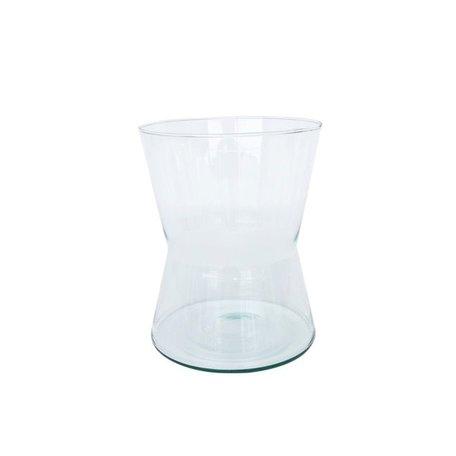 Vaas Diablo - recycled glas
