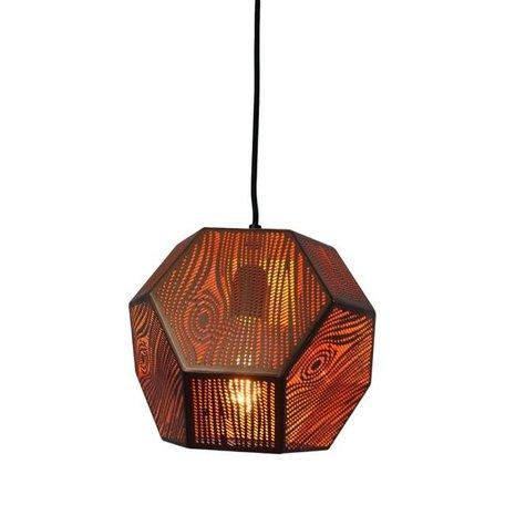 Hanglamp Edgy - koper