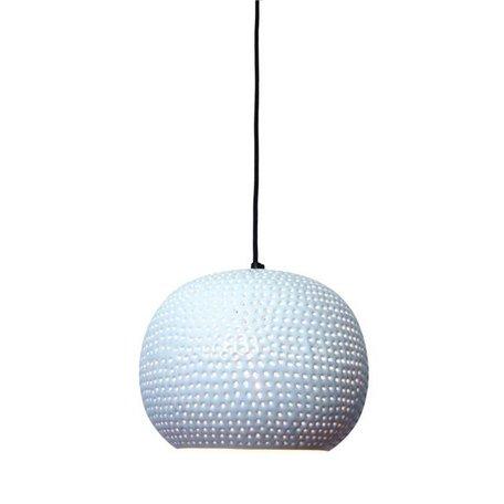 Hanglamp Spike - bol - wit