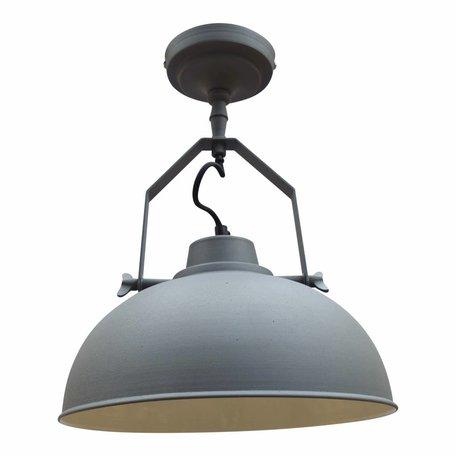 Industriële plafondlamp - vintage grijs - Ø 30 CM