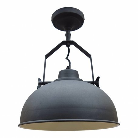 Industrial ceiling lamp - vintage black - Ø 30 CM