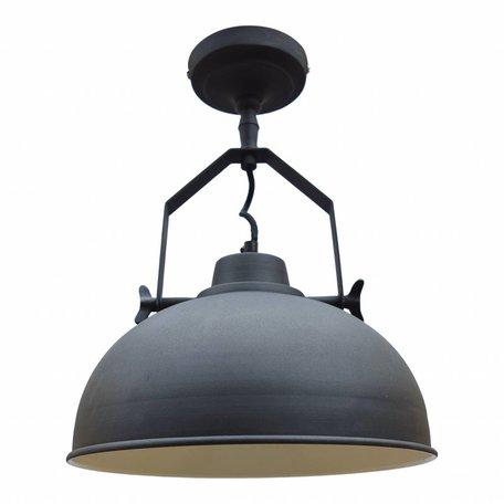 Industriële plafondlamp - vintage zwart - Ø 30 CM