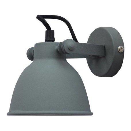 Wall lamp Industrial - vintage grey