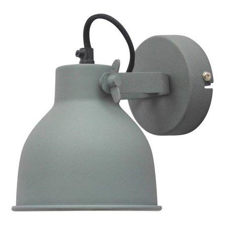 Wandlamp Industrial - vintage grijs - Large