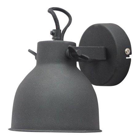 Wall lamp Industrial - vintage black - Large