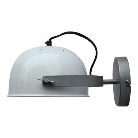 Wandlamp retro - wit