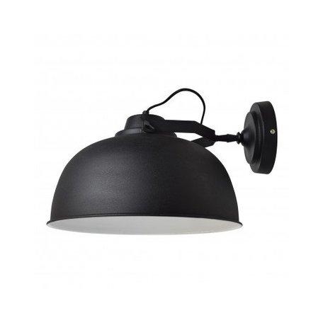 Wandlamp Urban - Ø 40 cm - vintage zwart