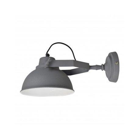 Wandlamp Urban - Ø 20 CM  - vintage grijs