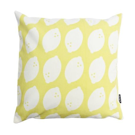 Cushion cover lemons