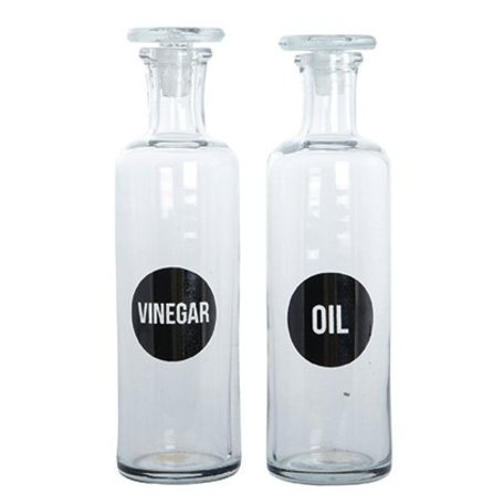 Bottles of Oil & Vinegar