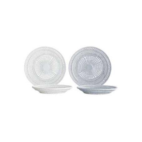 Braided bowl - white