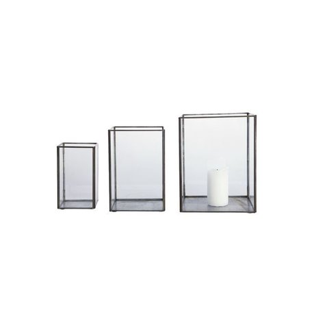 Lantern Pillar - set of 3