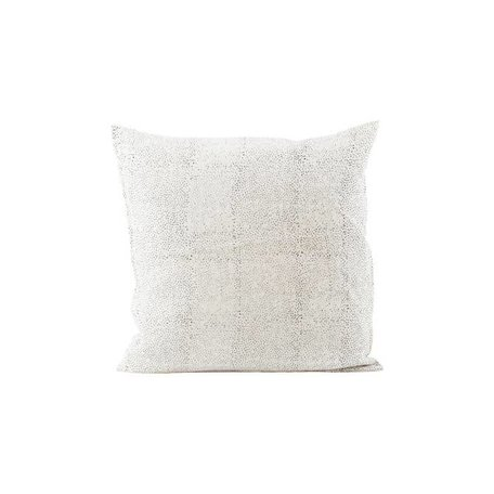 Linen cushion cover - Spots
