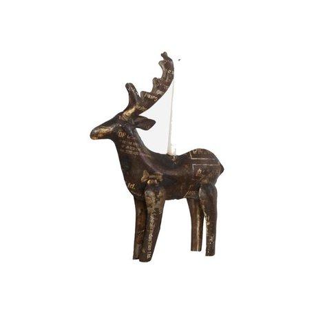 Reindeer candlestick - Small