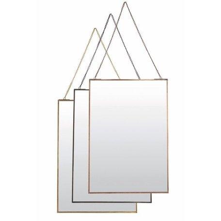 Mirror Simple - antique copper