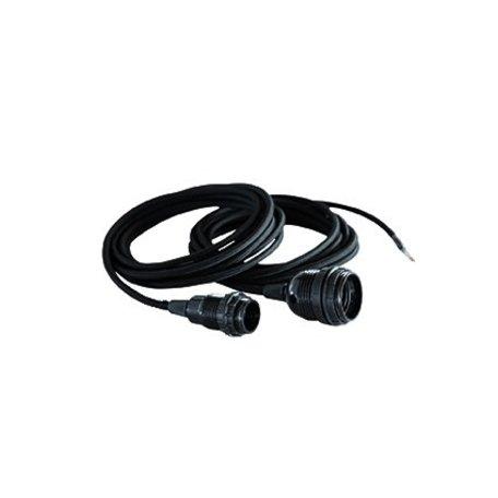 Lichtsnoer - zwart - E27