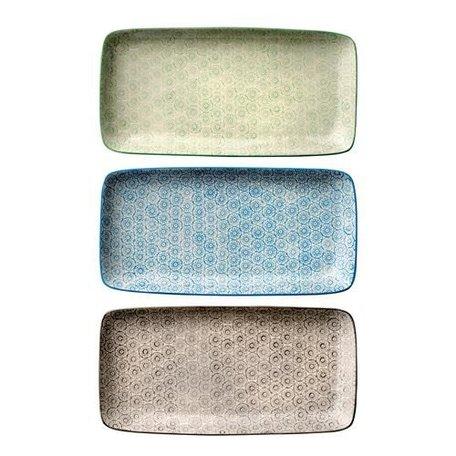 Isabella plate - Blauw