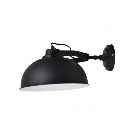 Wall lamp Urban - Ø 30 CM - vintage black