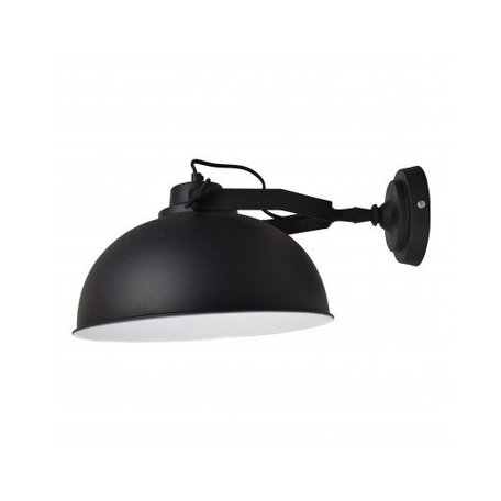 Wandlamp Urban - Ø 30 CM - vintage zwart