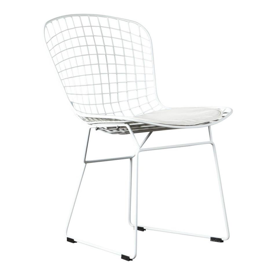 Bertoia Wire Chair | Design Chair Shop Wire Chair Dining Room Chair Bertoia White