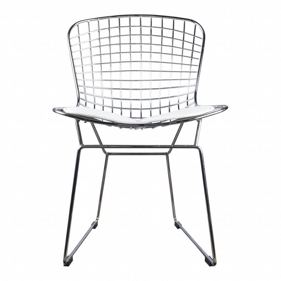 Wire Chair Bertoia Chrome