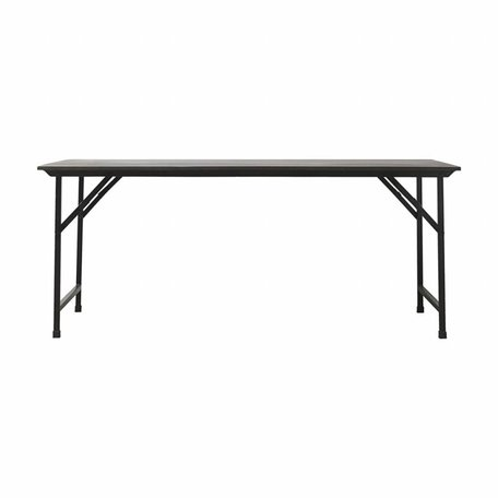 Table Party black - 180 cm x 80 cm
