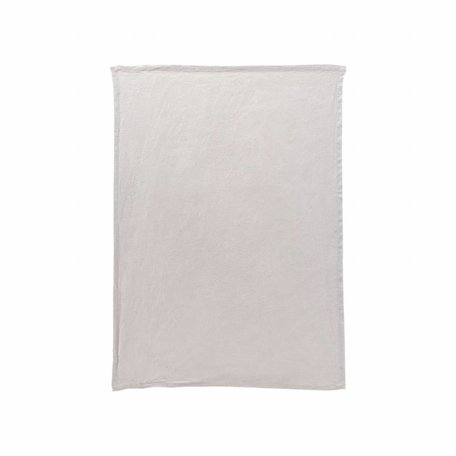 Linen Tea Towel By - Light grey