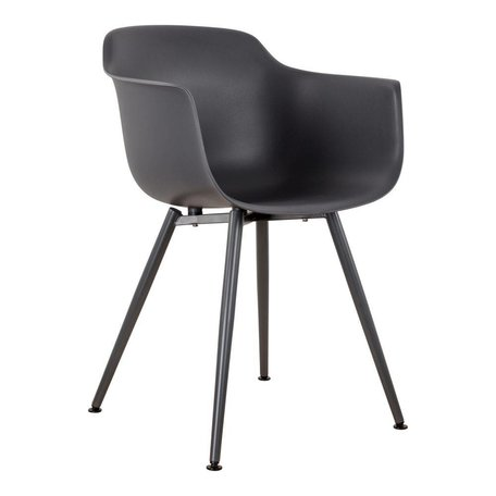 Dining chair with arm - Anthracite