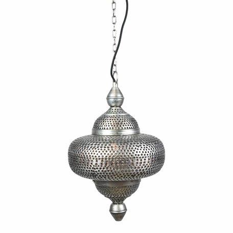 Bohemian hanglamp zink - Large