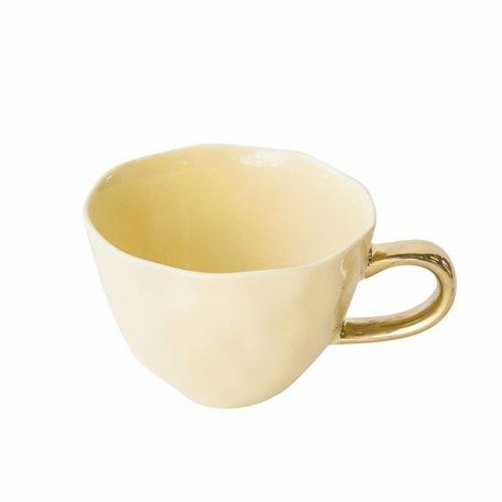 Good morning mug - Raffia Yellow