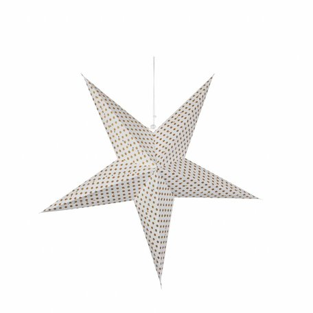 Star / dots gold - Ø 51 cm