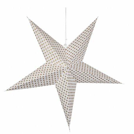 Ster / dots goud - Ø 68 cm
