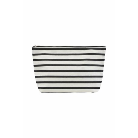 Toiletry bag - Monochrome stripes