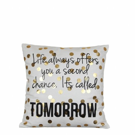 Cushion Tomorrow - Dots gold