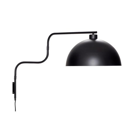 Metal wall lamp - Black